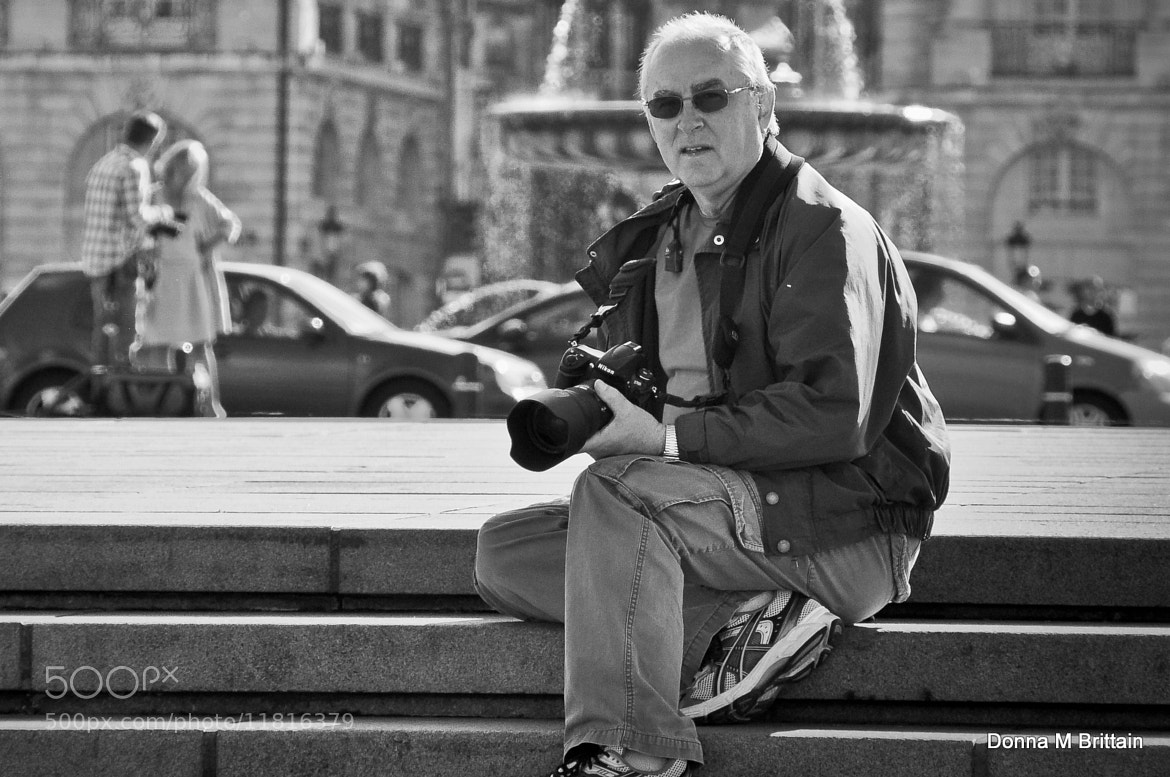 Photograph The Street Photographer, Becomes the Street Photograph Subject by Donna Brittain on 500px