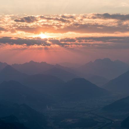Sonnenaufgang Grimming
