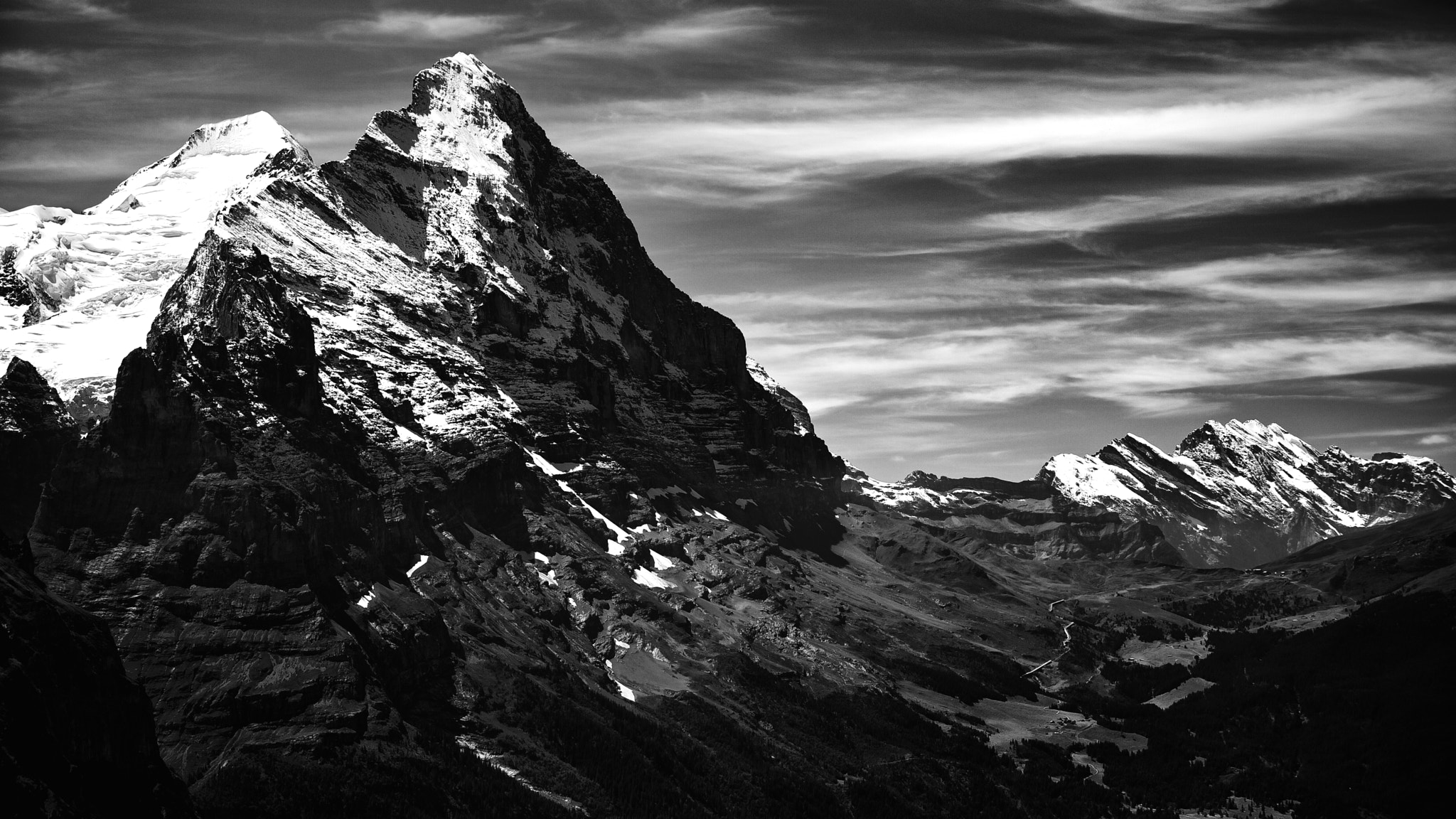 Photograph North face of the Eiger by Hannes Ortmann on 500px