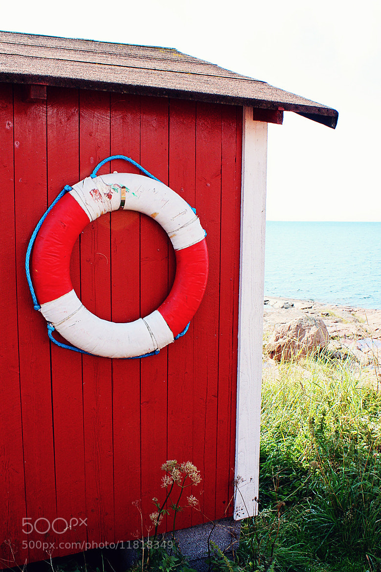 Photograph Red Shack by Minna R on 500px