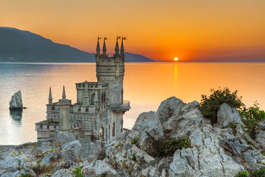 Photograph Palace Swallow's Nest by Tim Zizifus on 500px