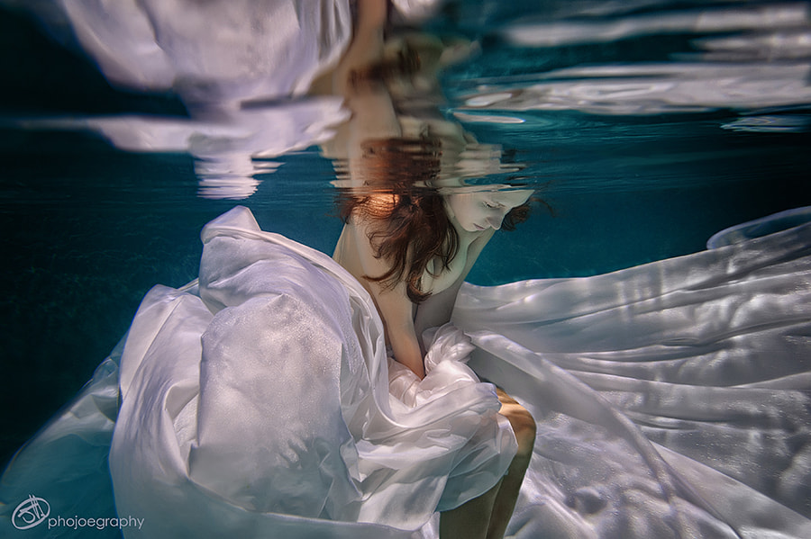 MyJess Underwater XXV by Phojoegraphy  on 500px.com