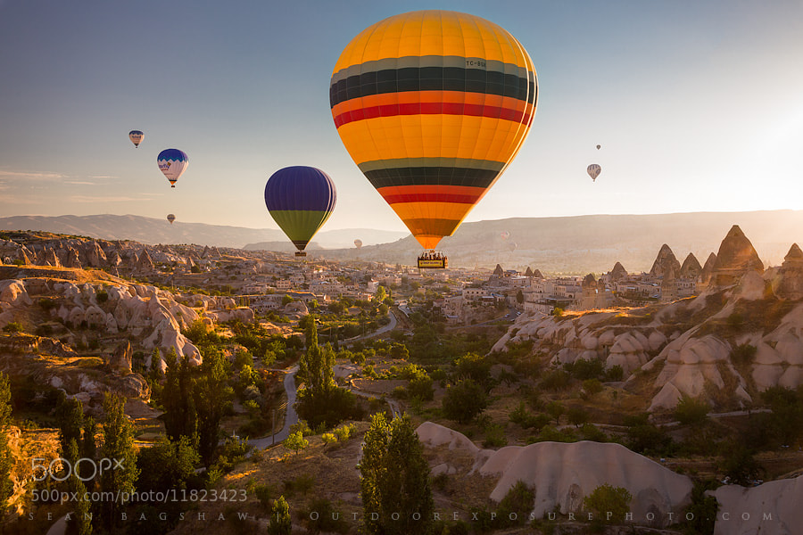 Photograph Cappadocia, Turkey by Sean Bagshaw on 500px