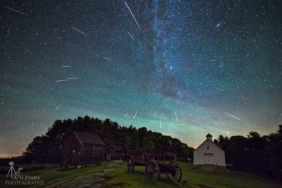 Photograph Perseids by Garrett Evans on 500px