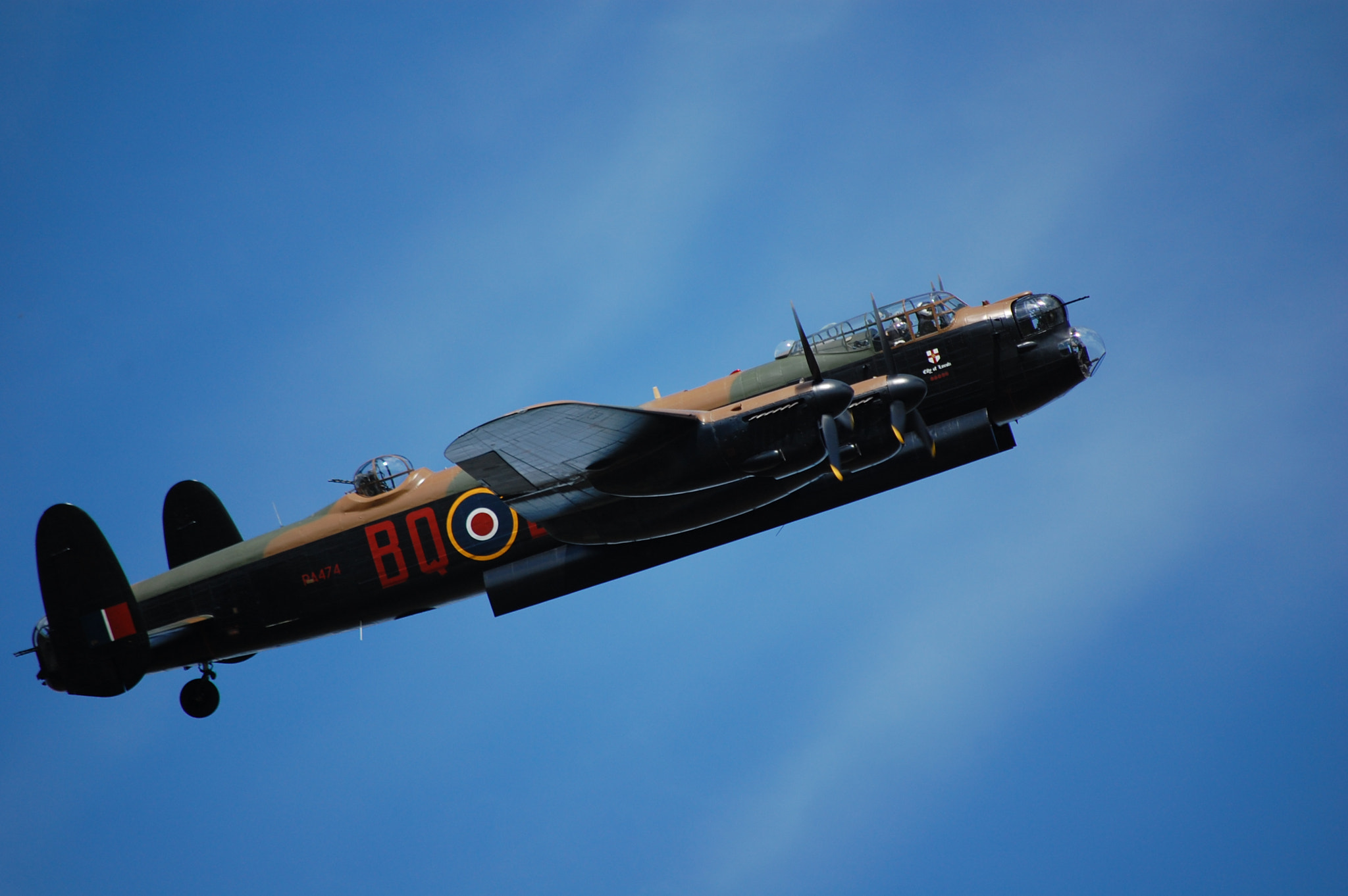 Photograph Lancaster fly past by 500px101 on 500px
