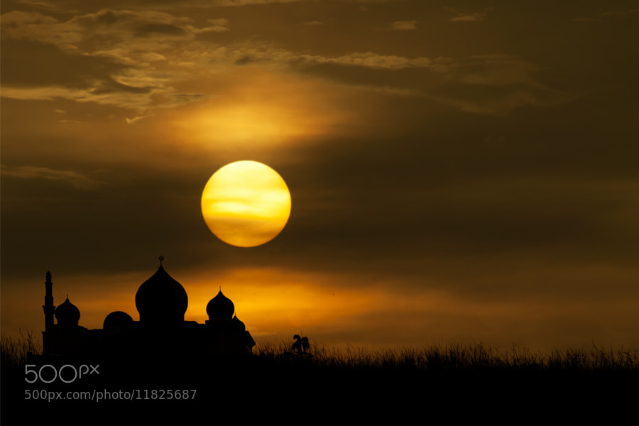 Photograph mosque by pink sword on 500px