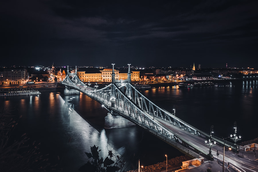 Budapest Liberty Bridge by Simon Alexander on 500px.com
