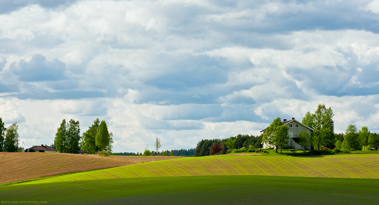 Photograph Green Fields by Magnus Hovland on 500px