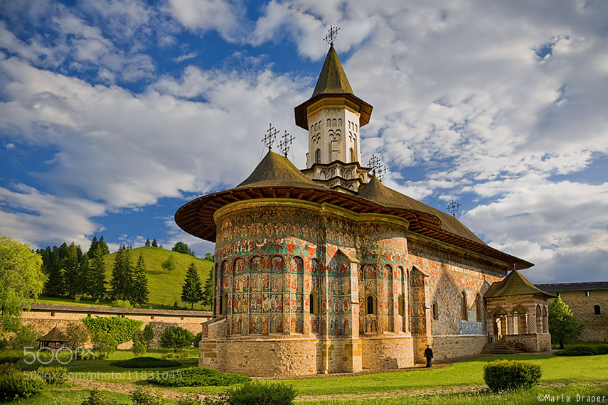 Photograph Sucevita Monastery, Suceava, Romania by Maria Draper on 500px