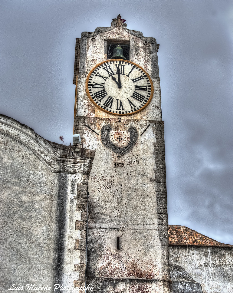 Photograph Tavira - St. Mary of the Castle - Clock by Luis Pereira on 500px