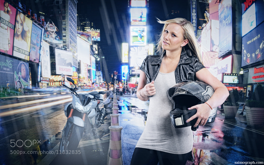Photograph THE GIRL AND THE BIKE by Simon Geis on 500px