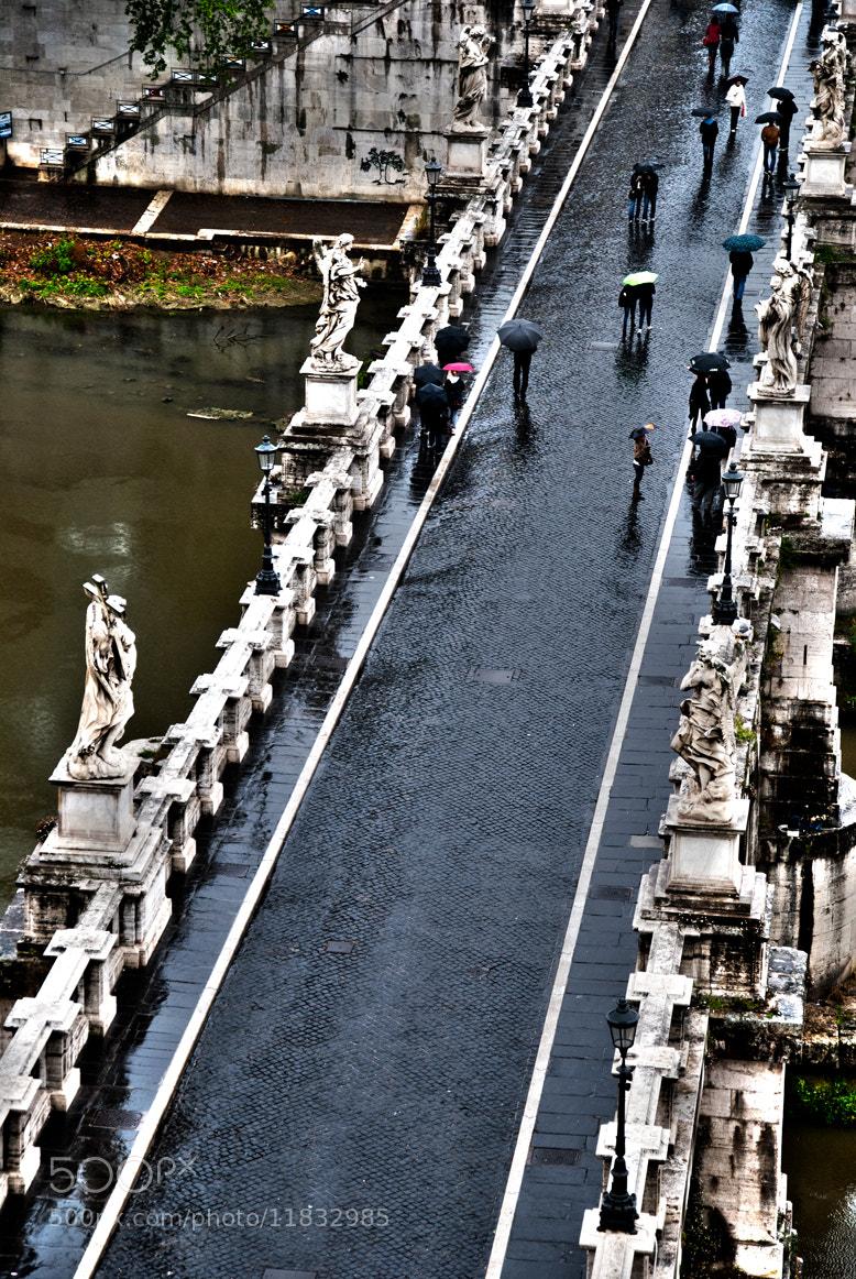 Photograph Sant Angelo bridge II, Rome by Francesco Zappalà on 500px