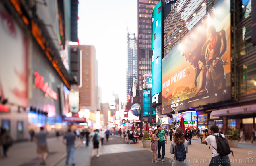 Photograph Times Square by Hans Woltering on 500px