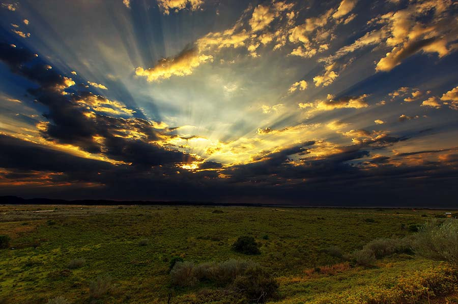 Photograph Sunrays by Clive Wright on 500px
