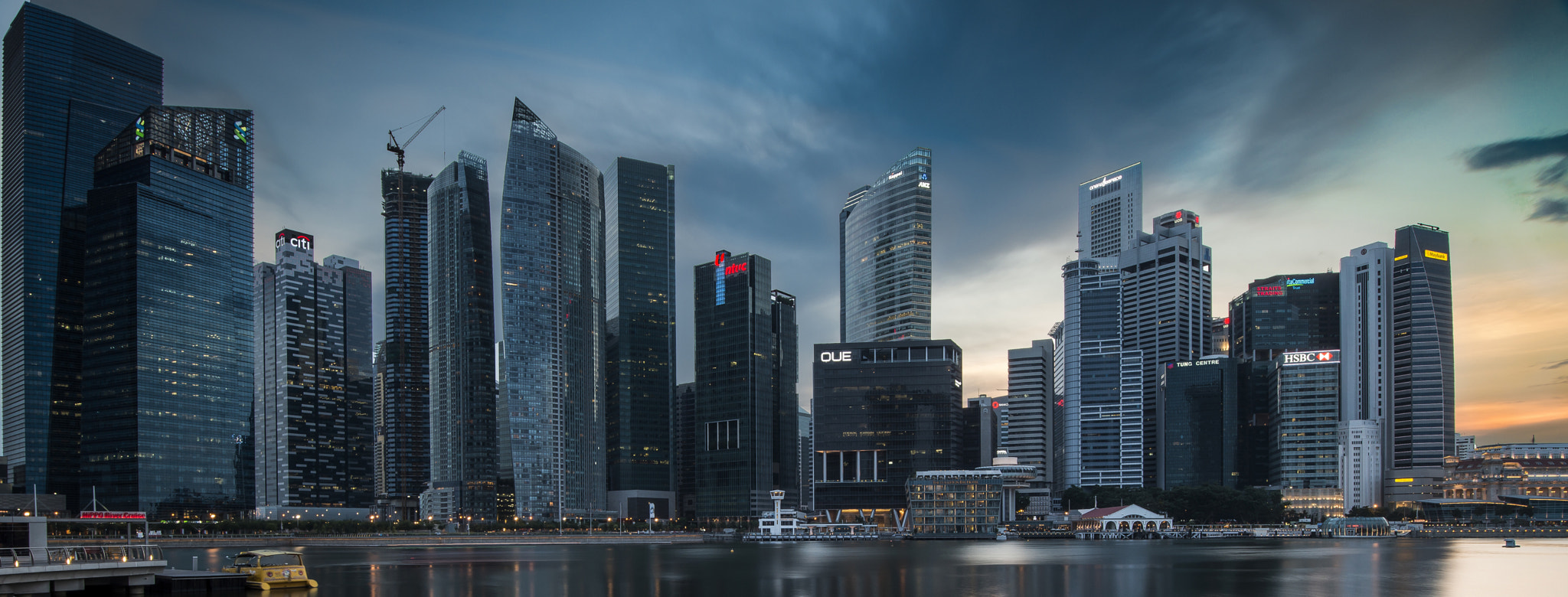 Photograph Singapore CDB area near MBS by Andy Sim on 500px