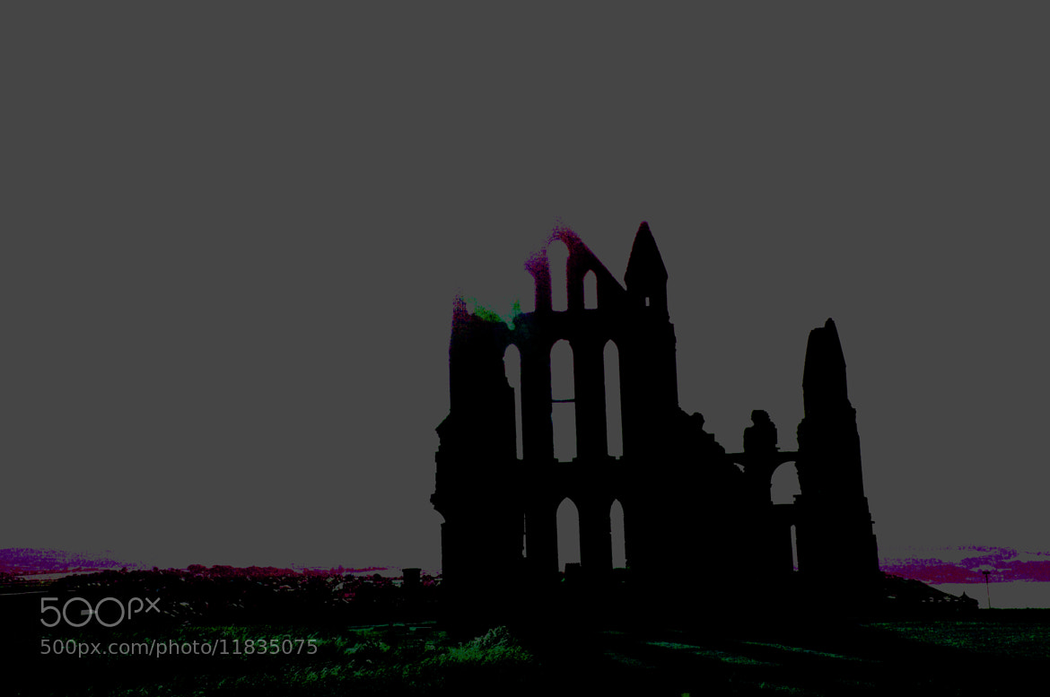 Photograph Whitby Abbey on drugs by Ian Burgess on 500px
