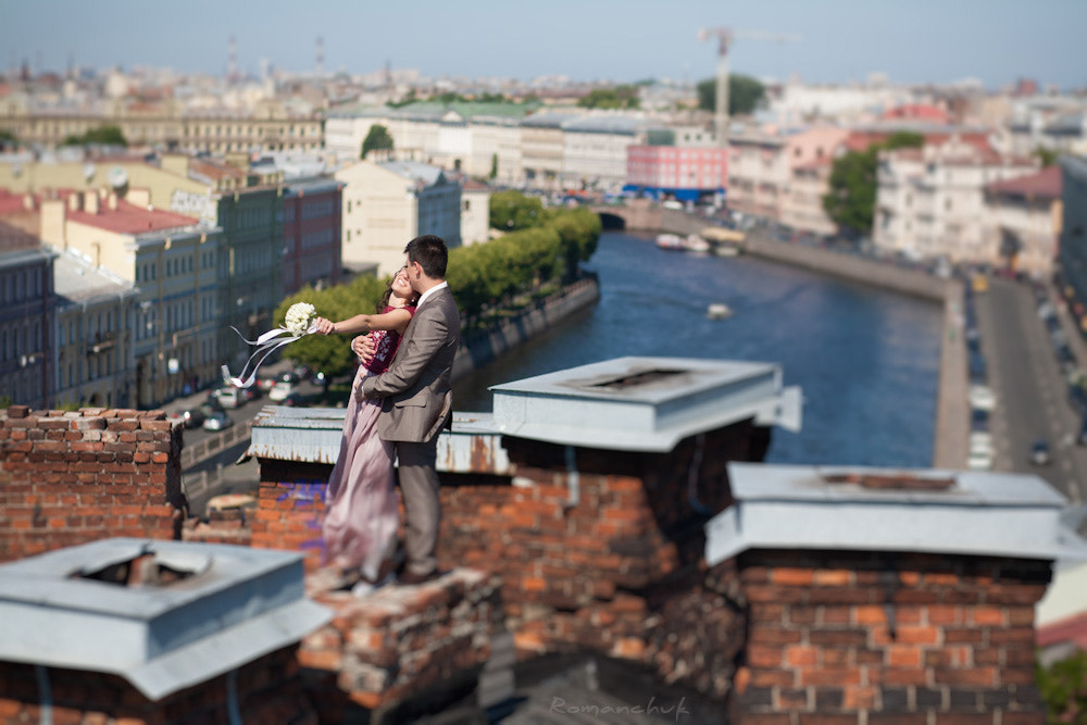 Photograph Love on a roof by Igor Romanchuk on 500px