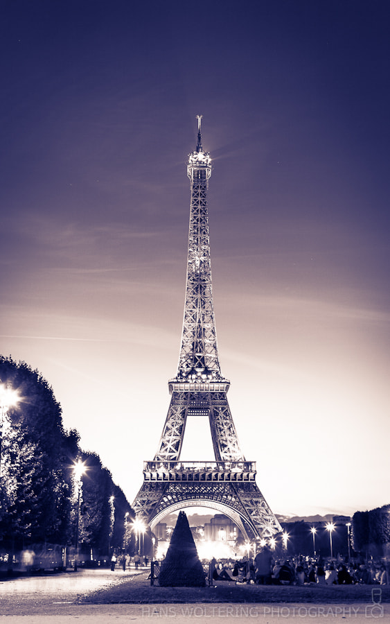 Photograph The Eiffel Tower by Hans Woltering on 500px