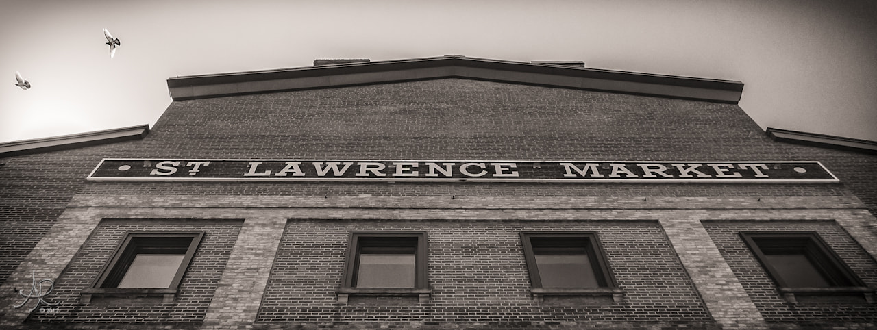 Photograph St. Lawrence Market Entrance by Robin Leworthy Wilson on 500px