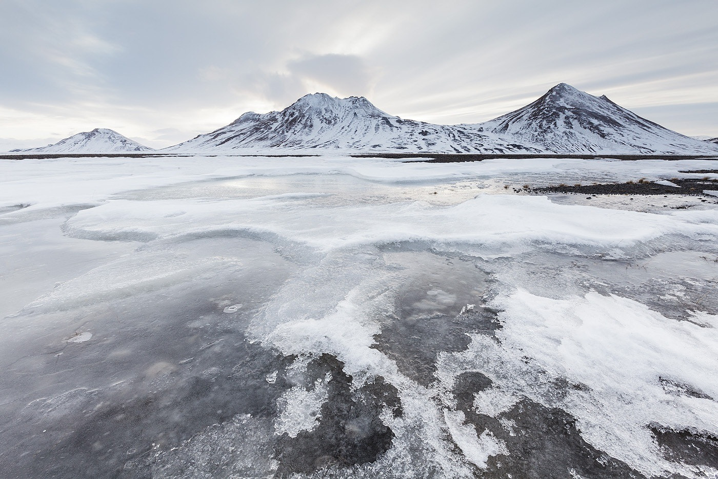 Photograph Icy mountains by Bart Heirweg on 500px