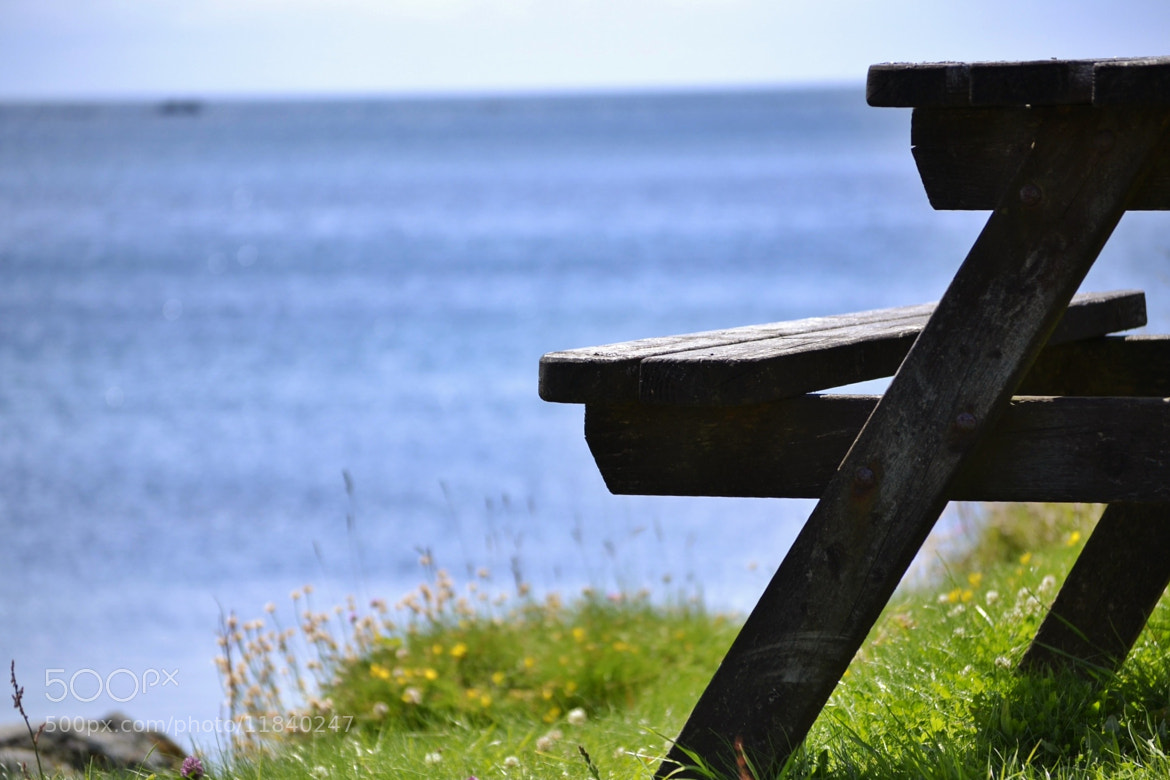 Photograph Bench with a view by Sarah johnson on 500px