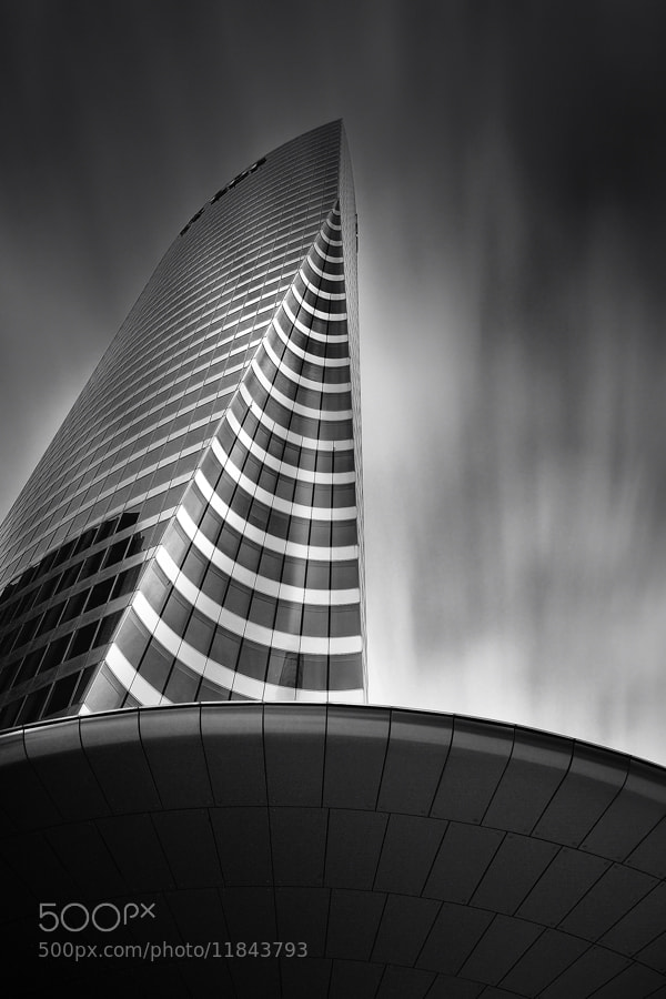 Photograph EDF tower by Julien Guglielminetti on 500px