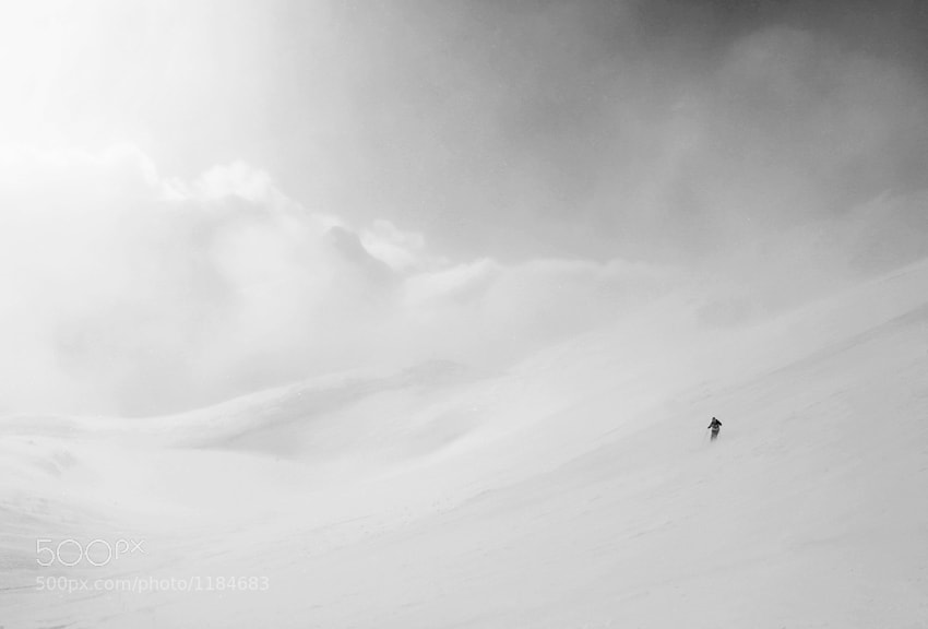 Photograph into the white darkness by Peter Svoboda on 500px