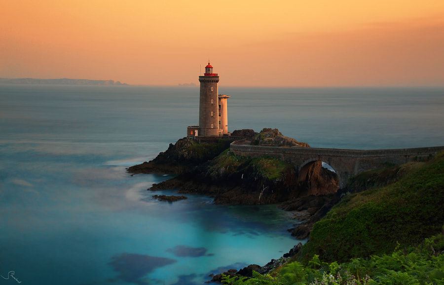 Photograph Sunset at the lighthouse by Stefano Landenna on 500px