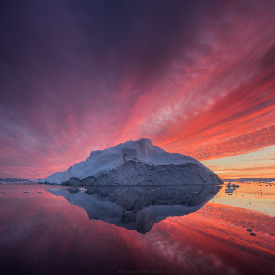 Photograph Fire on ice by Daniel Kordan on 500px