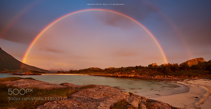 Rainbow Beach by kjellstian