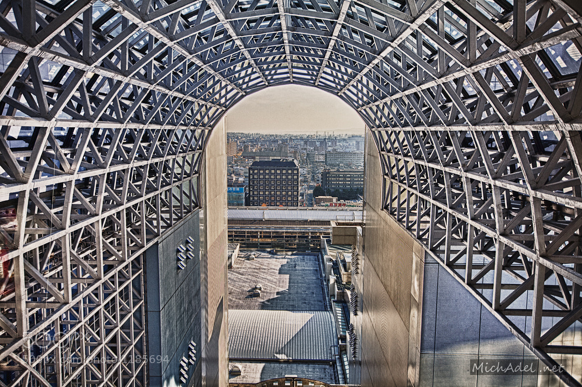 Photograph Air Tunnel in Kyoto Station(HDR) by MichAdel   on 500px