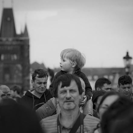 Child observing