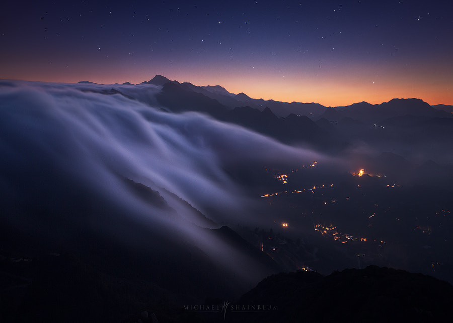 Cascade of Clouds by Michael Shainblum on 500px.com