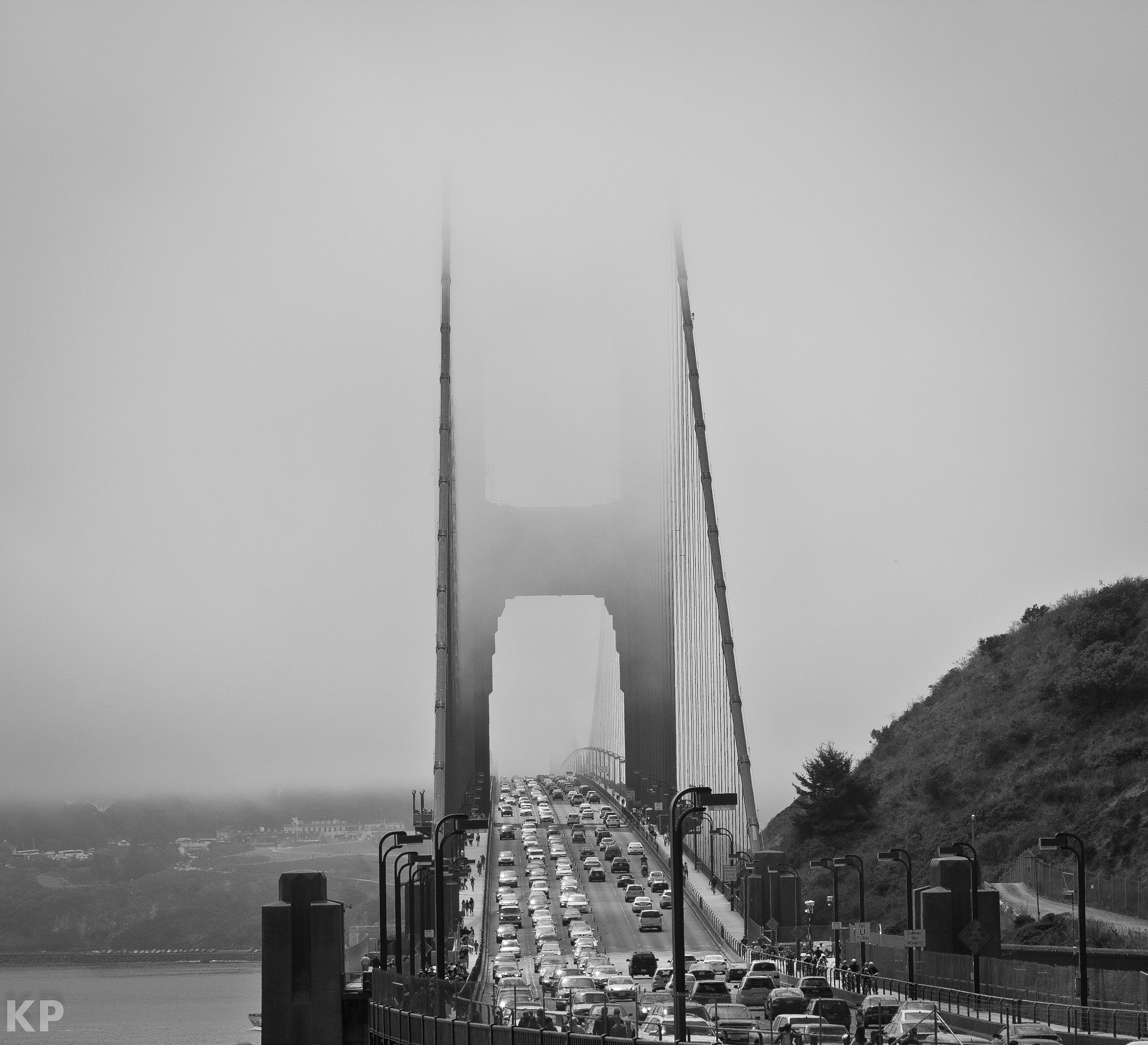 Photograph Golden Gate Fog by Kenny Pham on 500px