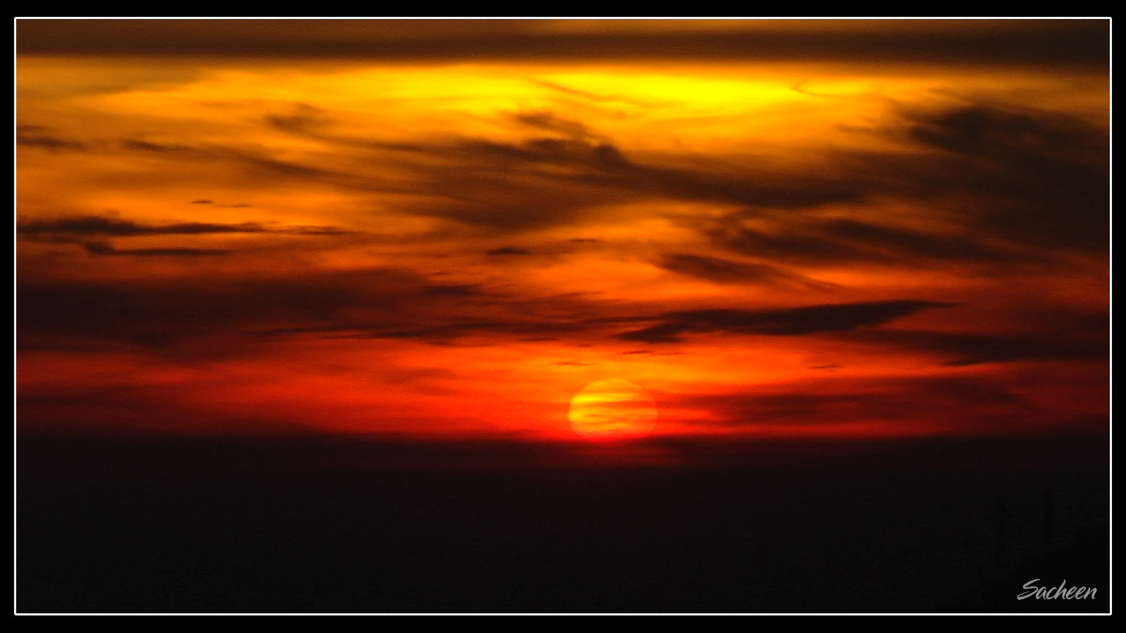 Photograph sunset by Sacheen Vaidya on 500px