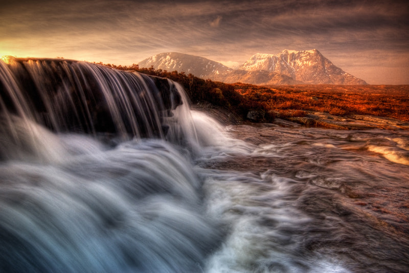 Photograph Sron na Creise from the 'Cauldron' by David Mould on 500px