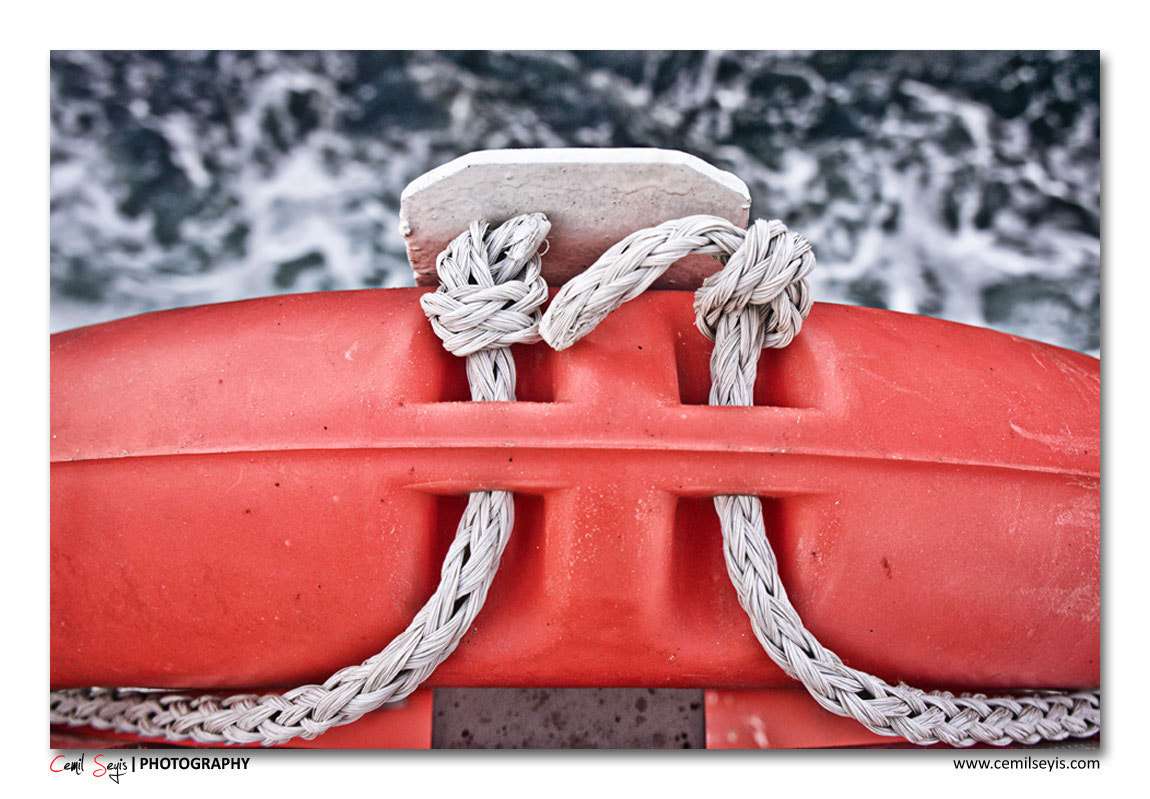 Photograph Lifebuoy by Cemil Seyis on 500px
