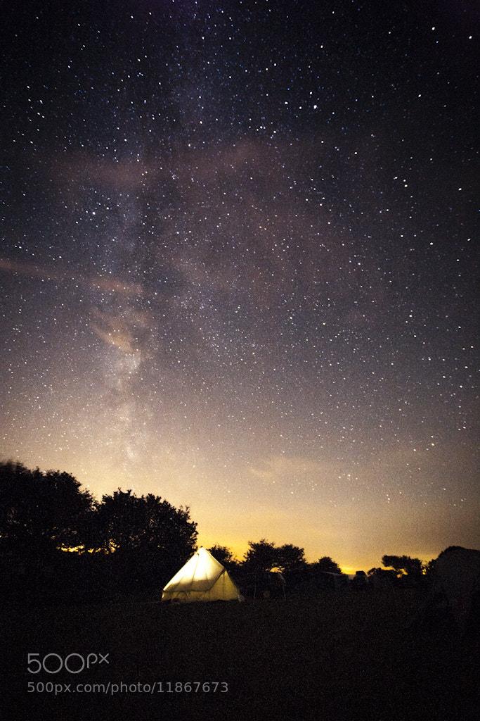 Photograph Sleeping under the stars by Mitt Nathwani on 500px