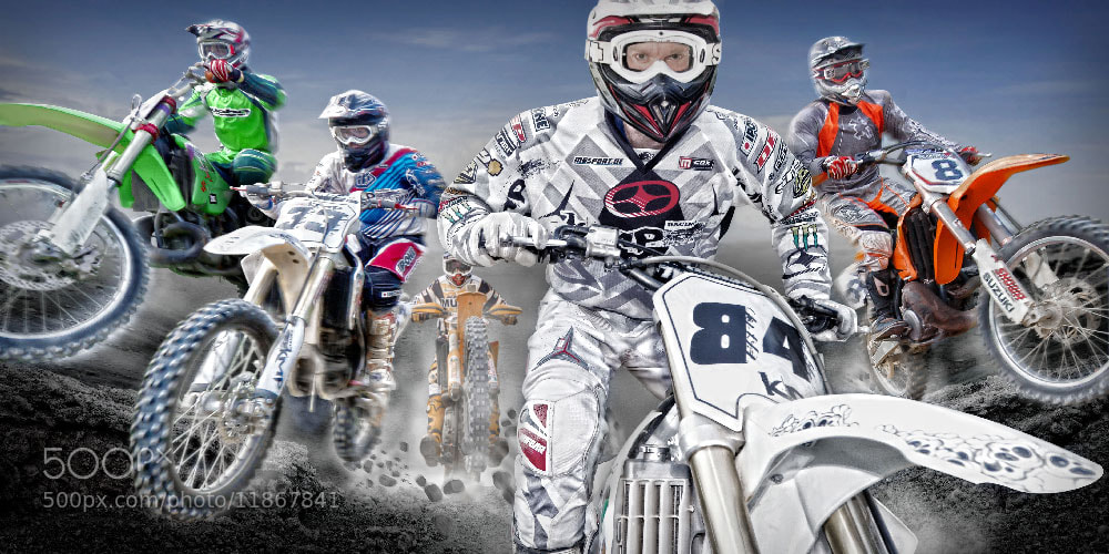 Photograph Motocross by Ralf Mack on 500px