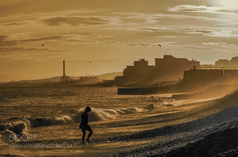 Photograph Brighton Beach - Sepia Sunset by julian john on 500px