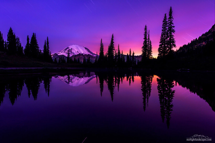 Fine Art Landscape Photography, 16 Minutes of at Tipsoo by nature and landscape photographer Dustin LeFevre