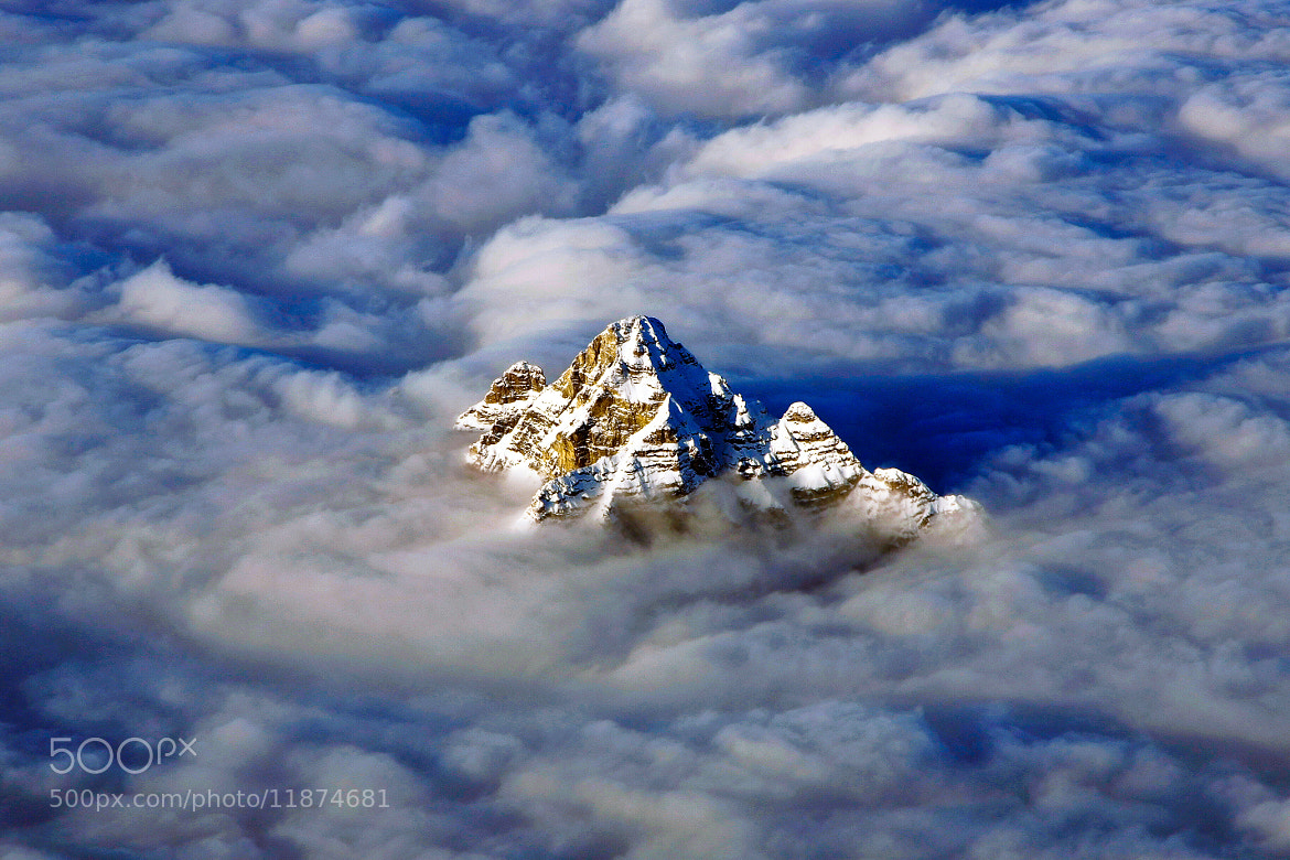 Photograph in a sea of clouds by Denis Roschlau  on 500px