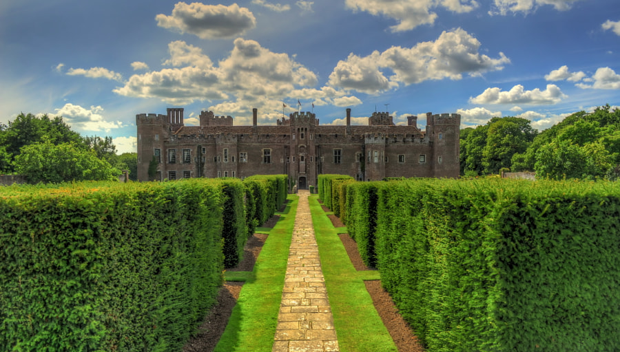 Herstmonceux Castle's garden by Bela Paszti on 500px.com