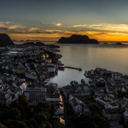 Sunset in Ålesund - Norway - Landscape photography