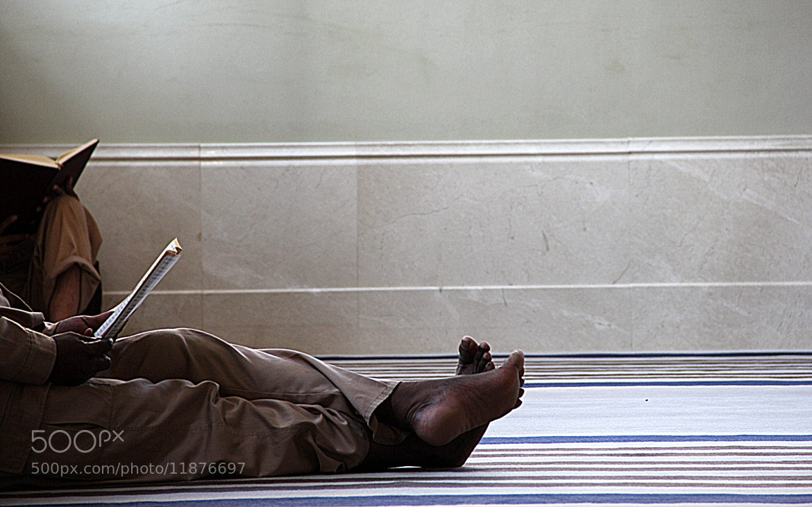 Photograph Reading Quran in Katara Mosque by Mohamed Nasr on 500px