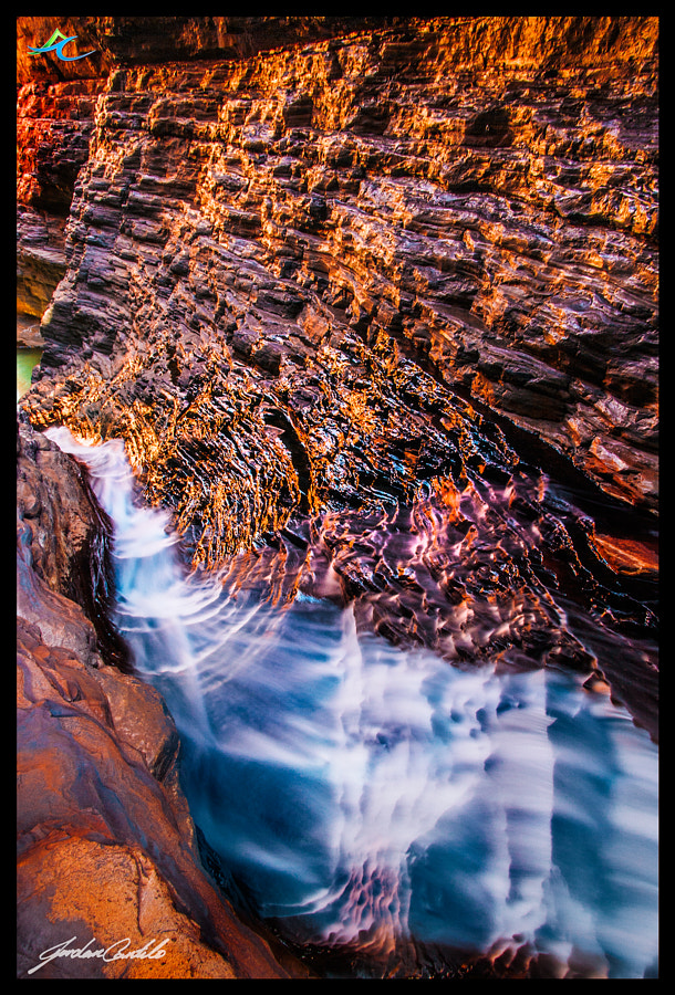 Not much needed to say about Hancock Gorge. It is located near Weano Gorgo, and it is just spectacular. If you get here at just the right time, all the rocks change colour and almost look metallic. Another incredible sight, and location in Western Australia