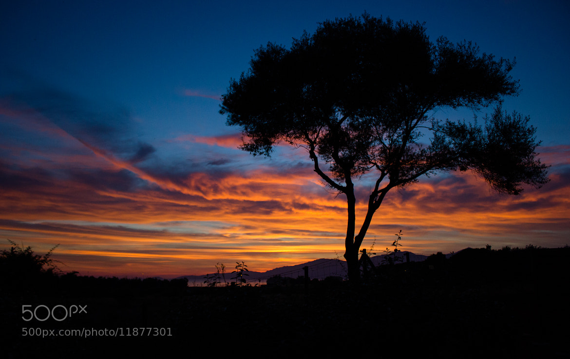 Photograph Coucher de soleil en Corse by Marc G on 500px