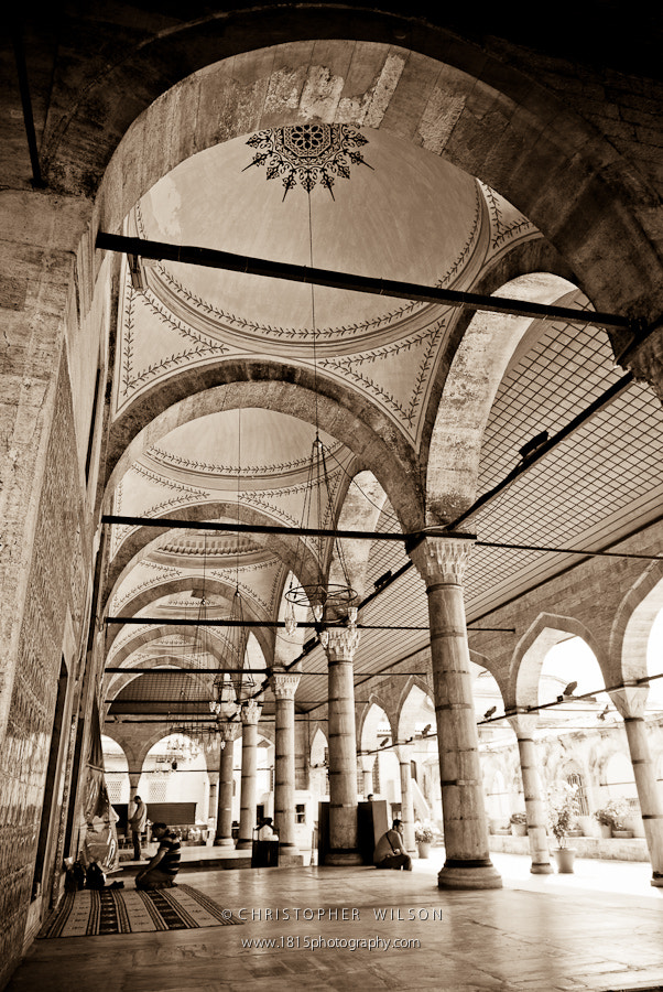 Photograph Prayer Outside Rustem Pasha by Christopher Wilson on 500px