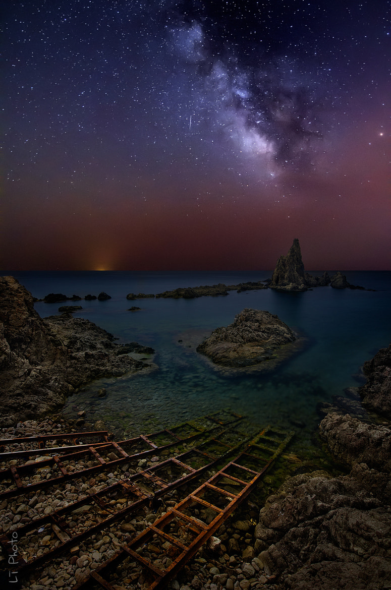 Photograph The Reef of Sirens at Night by Javier de la Torre on 500px