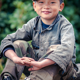 Village boy Portrait. Nepal, Himalaya by Arsenii Gerasymenko (Arsgera)) on 500px.com